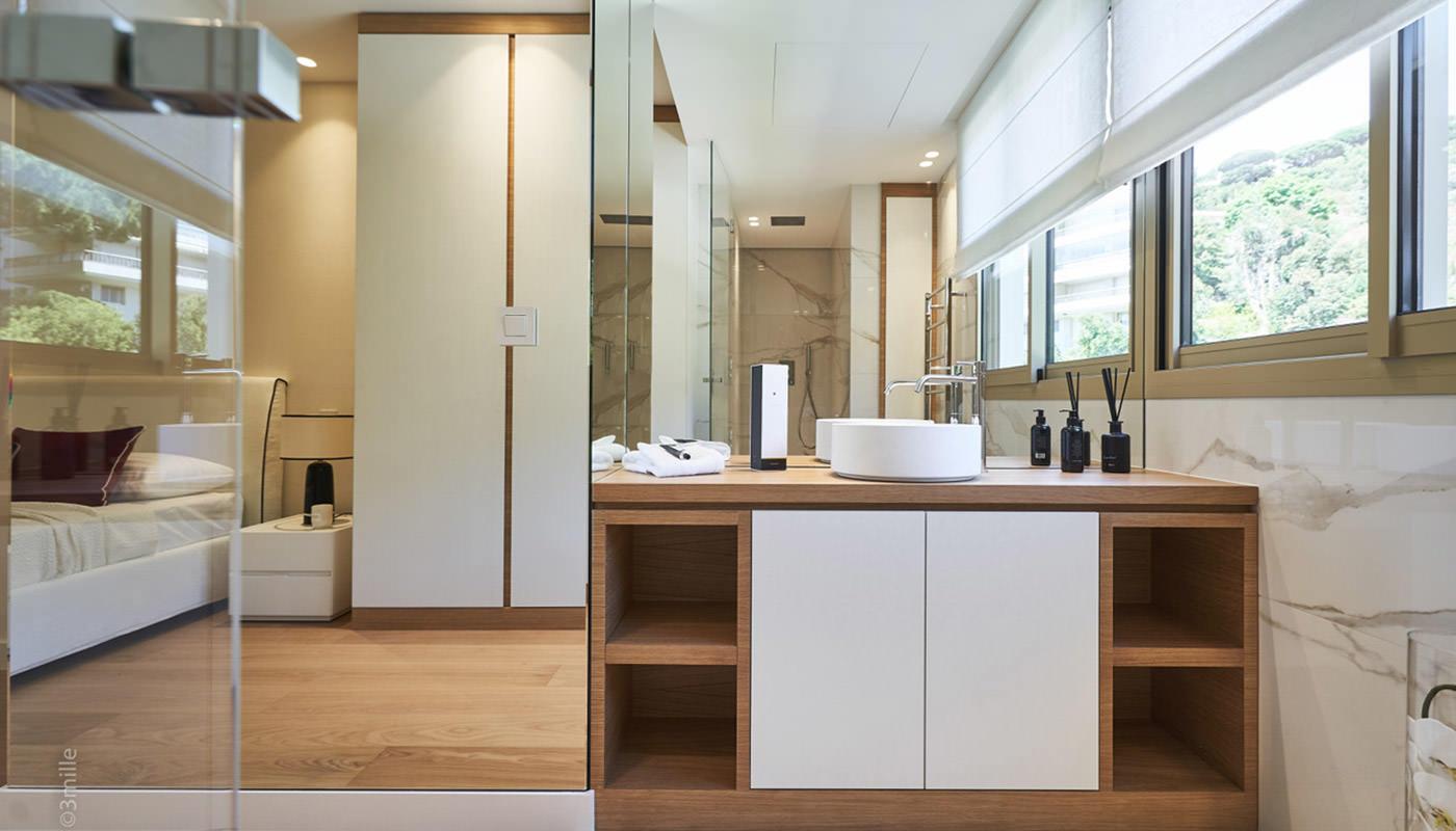 Architecte D Intérieur Cannes appartement - semiramis • projets d'architecture intérieur