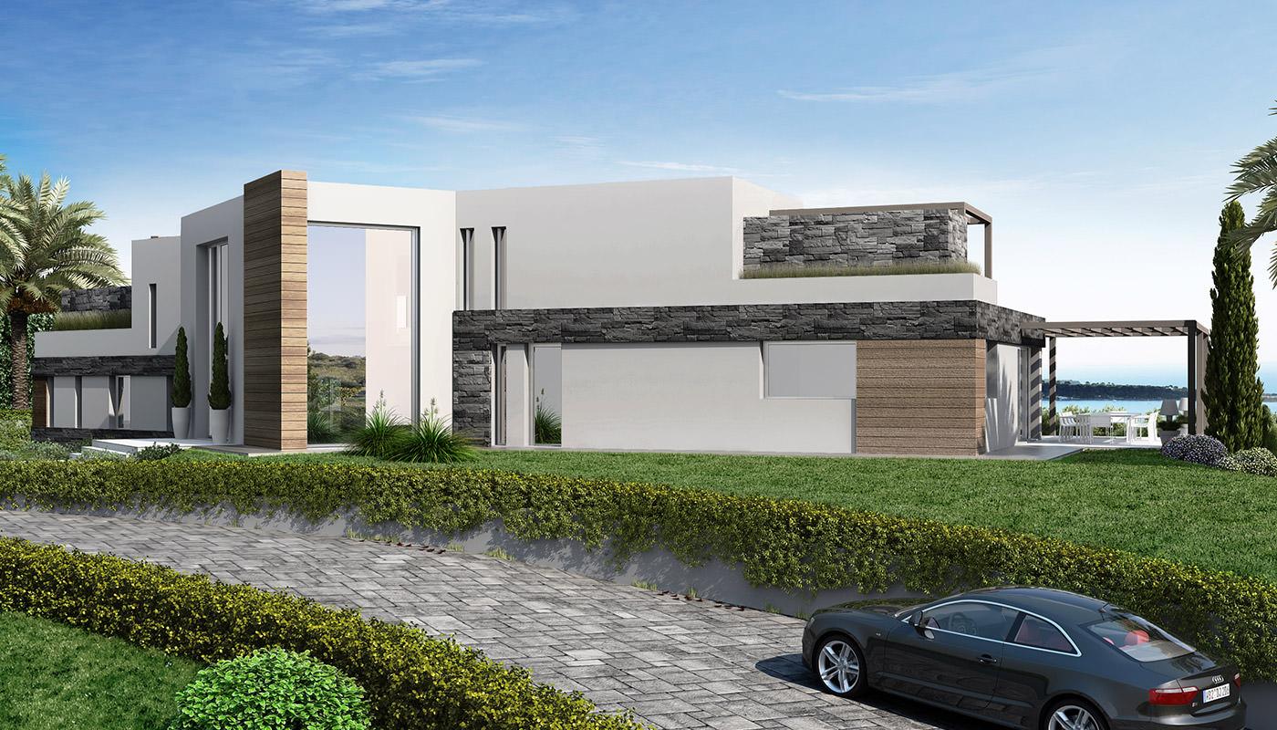 Villa Mirazur • Projets d'architecture intérieur