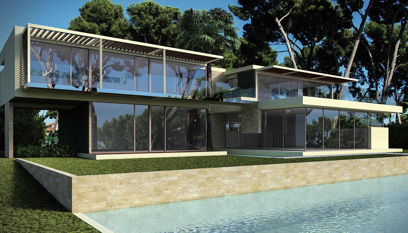 Villa S - Cap d'Antibes